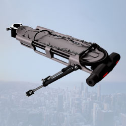 Codex-U Urban – U-locks for Bike with luggage carrier