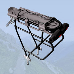 Codex-U Adventure – U-locks for bikes with luggage carrier and for saddlebags